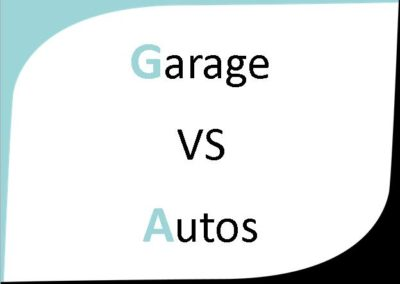 Garage VS Autos